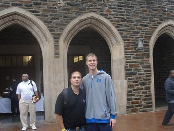 jon scheyer back at duke skeelow duke fan 1
